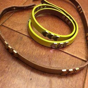 Gap wrap bracelets